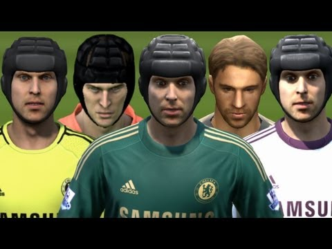 Petr Cech from FIFA 05 to 13 | HD 1080p