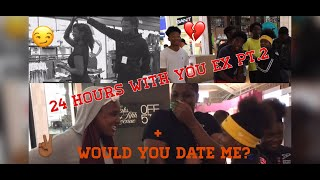 How Would 24hrs Go With You Ex PT.2 | Rate Me 1-10 / Would You Date Me❤️? PUBLIC INTERVIEW