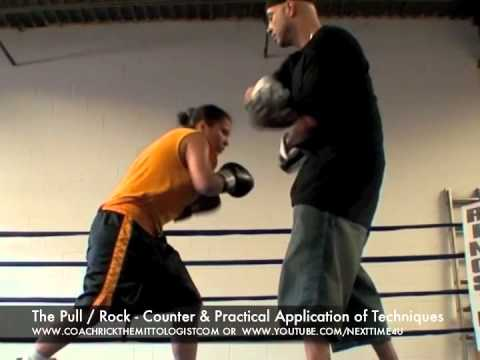 Coach Rick - Boxing Padwork Instruction Mayweather Defense & Counter Mittwork Training Technique Image 1
