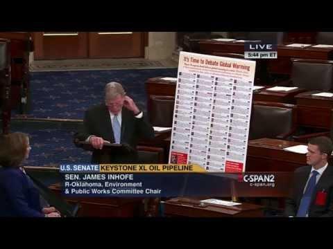 Sen. James M. Inhofe on Global Warming in the Keystone XL Debate