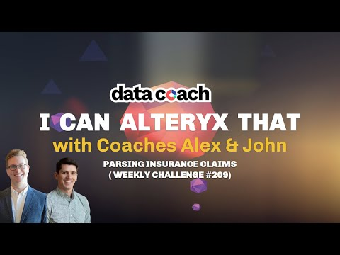 PARSING INSURANCE DATA | I CAN ALTERYX THAT