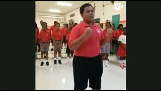 Students Sing Beautiful Version Of Andra Day 39 S Song 39 Rise Up 39
