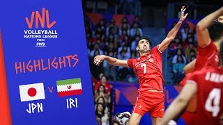 JAPAN vs. IRAN - Highlights Men | Week 2 | Volleyball Nations League 2019