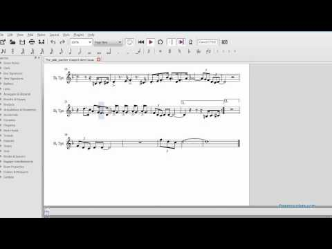 The Pink Panther Theme  Song Sheet Music For Trumpet video