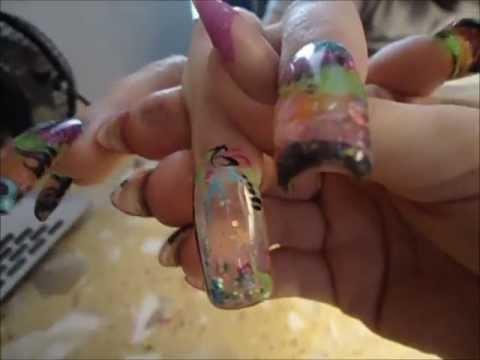 Water Globe Nails Aquarium Nail Water Nail