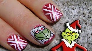 Uñas Grinch - Grinch Nails