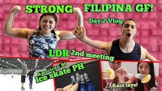 AMERICAN AND FILIPINA | NALIGAW SA MOA (LDR VLOG DAY-2)