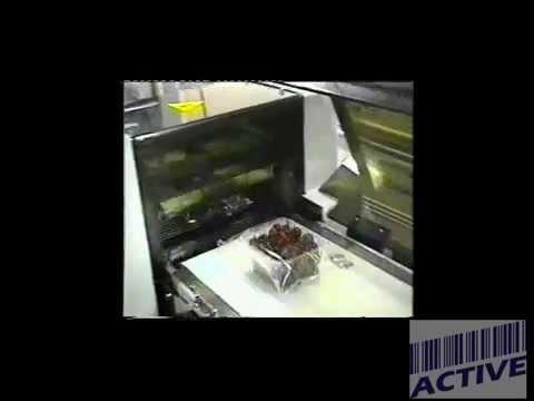 Mquina automática de etiquetado de bandejas , Etiquetadores automatizados