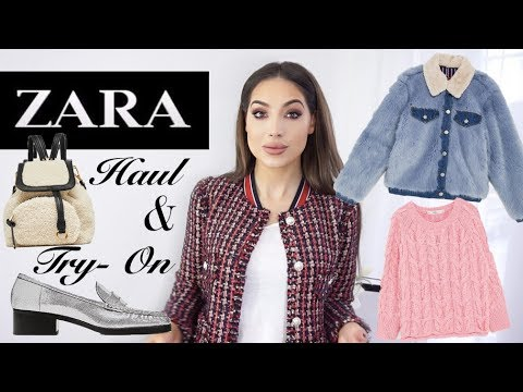 Huge ZARA Try-On Haul | New Killer Finds For Spring 2018