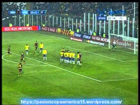 Brasil 2 Venezuela 1 (ADN Radio Chile 91.7)   Copa America 2015