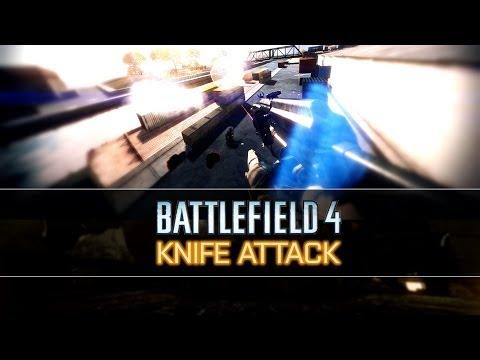 Battlefield 4 схватка на ножах (knife attack)