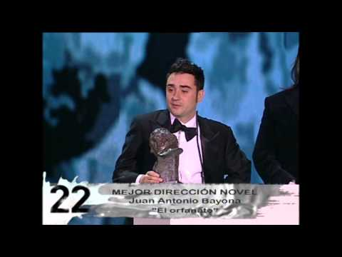 Juan Antonio Bayona gana el Goya a Mejor Dirección Novel en 2008