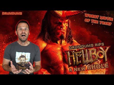 Drumdums Rips HELLBOY (2019) A New Ahole!