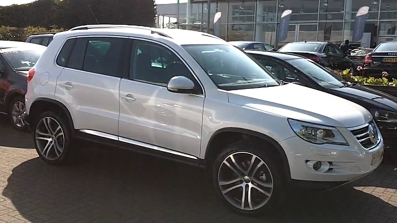 2010 VW Tiguan Escape with 19 Inch Savannah HD 720P - YouTube