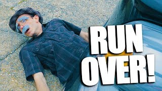 OLD MAN GETS RUN OVER!?