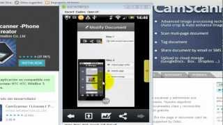 CamScanner convierte su android en  un escner porttil