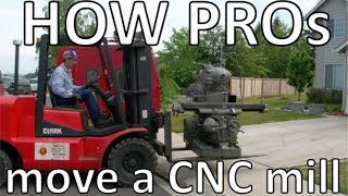 How pros move a CNC mill
