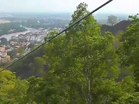 Rope way to Mansa Devi Temple Haridwar