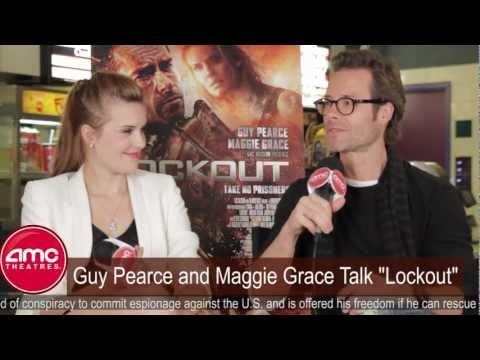 Guy Pearce and Maggie Grace Talk