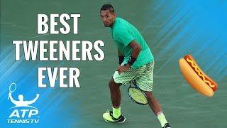 TOP 30 BEST EVER ATP TENNIS TWEENERS! 🌭