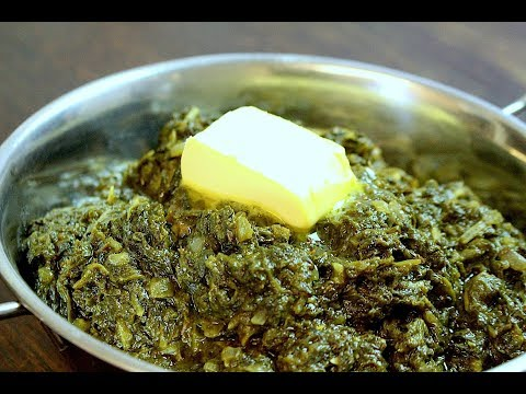 LAHSUN PALAK RECIPE *COOK WITH FAIZA*