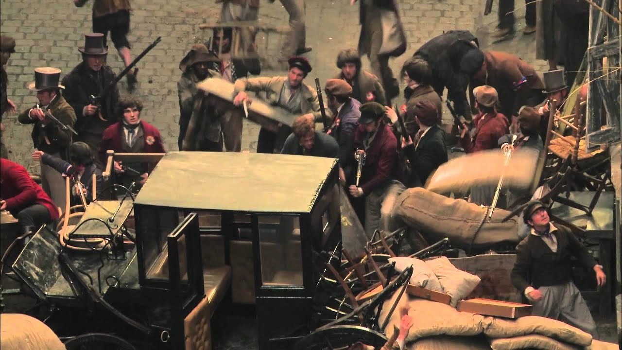 Les Misérables - Building The Barricade - Own it 3/22 on ...