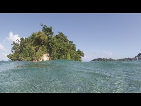 San San Beach to Monkey Island Snorkel, Port Antonio, Jamaica