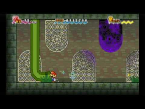 Super Paper Mario Review (Wii)