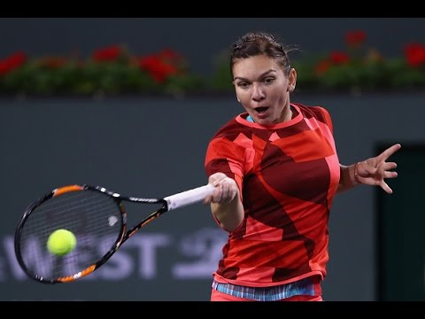 2016 BNP Paribas Open Round of 16 | Simona Halep vs Barbora Strycova | WTA Highlights