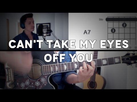 Download Lagu  Can't Take My Eyes Off You Tutorial Cover - Guitarra Mauro Martinez Mp3 Free