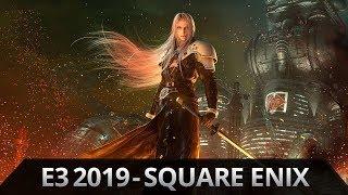 E3 2019: SquareEnix - Unsere Reaktionen zu Final Fantasy 7 Remake, Avengers, Outriders & mehr!