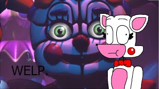 Mangle Reacts to Sister Location Trailer 1
