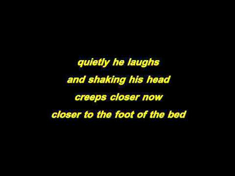 the cure - lullaby with lyrics