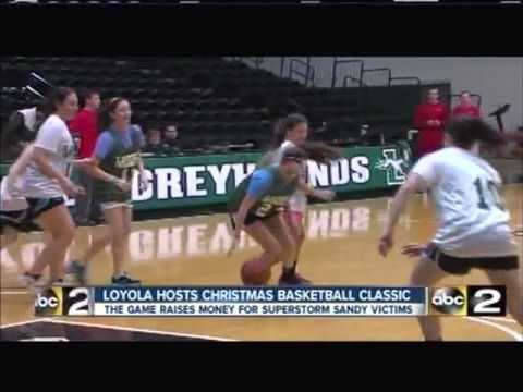 Christmas Basketball Classic supports Hurricane Sandy relief efforts (WMAR-TV)