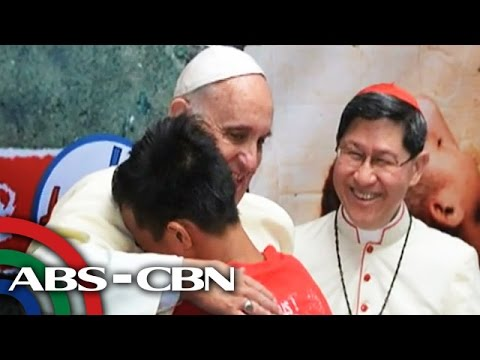 Pope Francis binisita ang mga batang lansangan