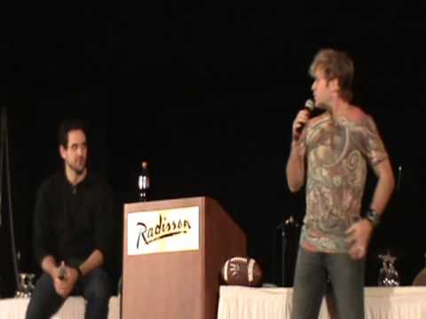 panel with travis willingham and vic mignogna vic