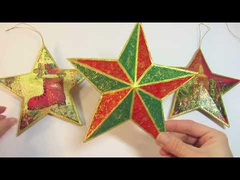 Tutorial: Estrella navidad 3D. Christmas star.