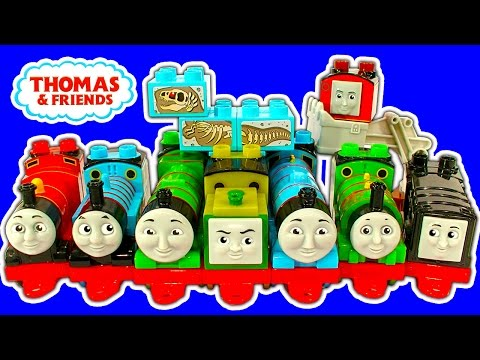 Thomas & Friends Mega Fun Train Wreck Freak Storm Dinosaur Toy Review