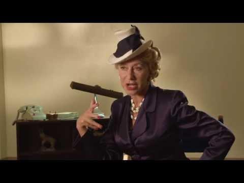 Trumbo: Helen Mirren Behind The Scenes Movie Interview