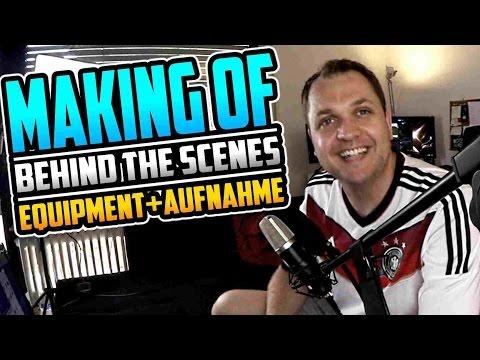 SO ENTSTEHT EIN YOUTUBE VIDEO - Equipment + Aufnahme - MAKING OF (1/2)