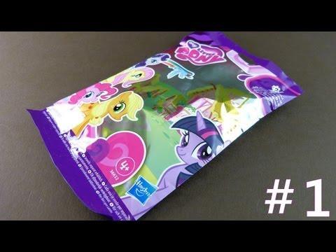 Tajemniczy Kucyk z Saszetki #1- polska recenzja zabawki - My Little Pony