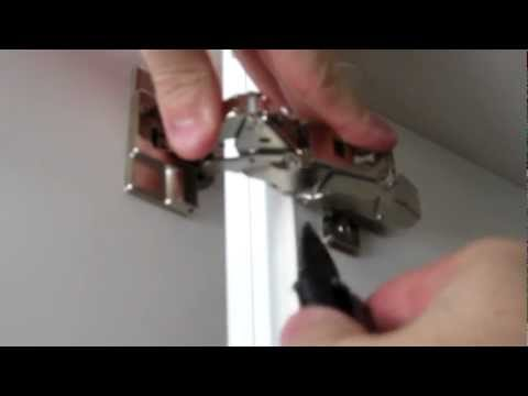 How to Install IKEA 153 Degree Integral Hinge