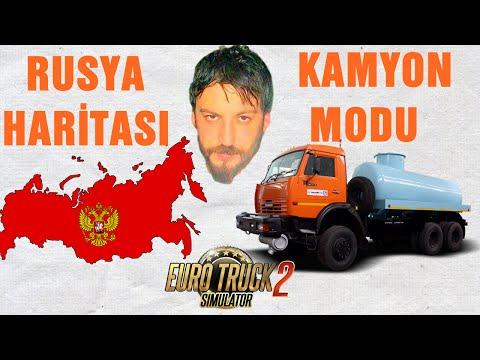 Euro Truck Simulator 2 Türkçe | Kamyon Modu & Rusya Harita Modu & Dorse Modu