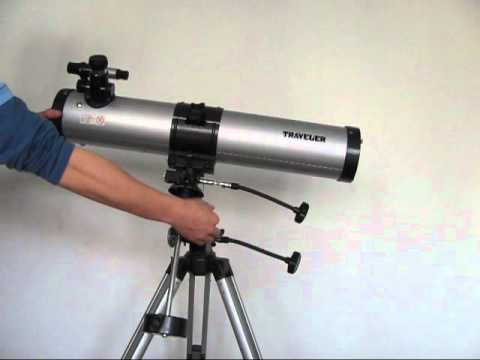 A Beginner Reflector- The Traveller Telescope Review