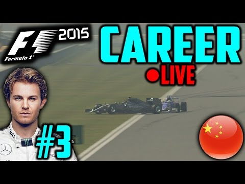 F1 2015 Nico Rosberg Career Mode #3: China
