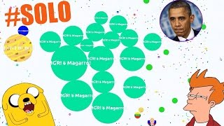 INSANE AGAR.IO GAMEPLAY - SOLO 32K+ IN AGARIO