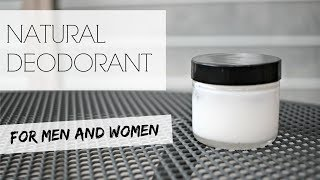 NATURAL DEODORANT | Extra strength