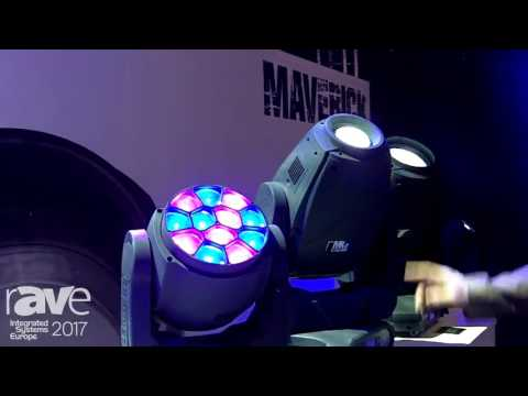 ISE 2017: CHAUVET Features Maverick Light Fixture Line for Entertainment