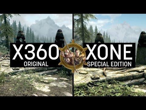 Skyrim Special Edition Graphics Comparison (XONE) VS Skyrim Vanilla (X360)