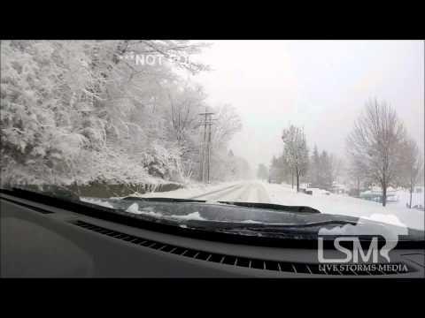 11-11-14 Marquette, Michigan Winter Storm